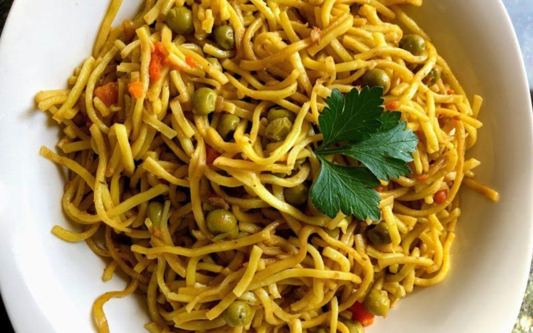Vegetarian Chow Mein