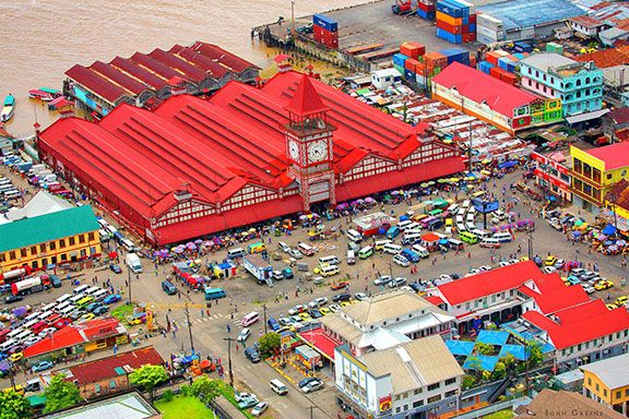 Stabroek Market (Georgetown Guyana)
